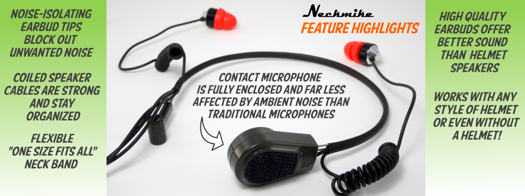 Neckmike offers unique features and all day comfort